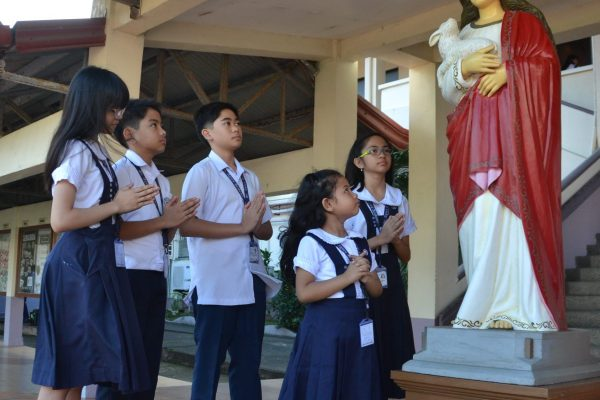 honoring our patroness